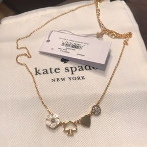 Stunning Kate spade gold necklace Mini things